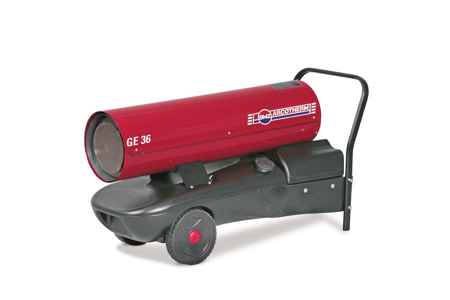 Direct Fired Oil Heater GE36