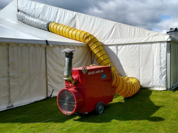 Event Heater for Marquee